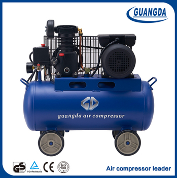 Factory best price 1hp belt driven air compressor machines