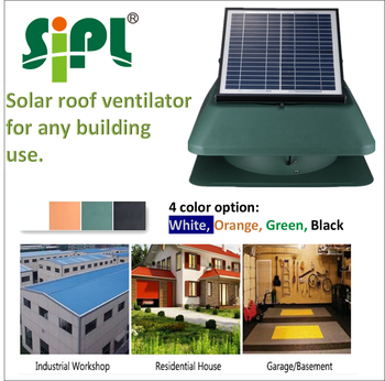 solar power battery roof air exhaust fan solar attic exhaust fan solar roof stand fan sunny vent kits