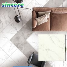 600x600mm porcelain glazed tile floor ceramic, white glazed tile