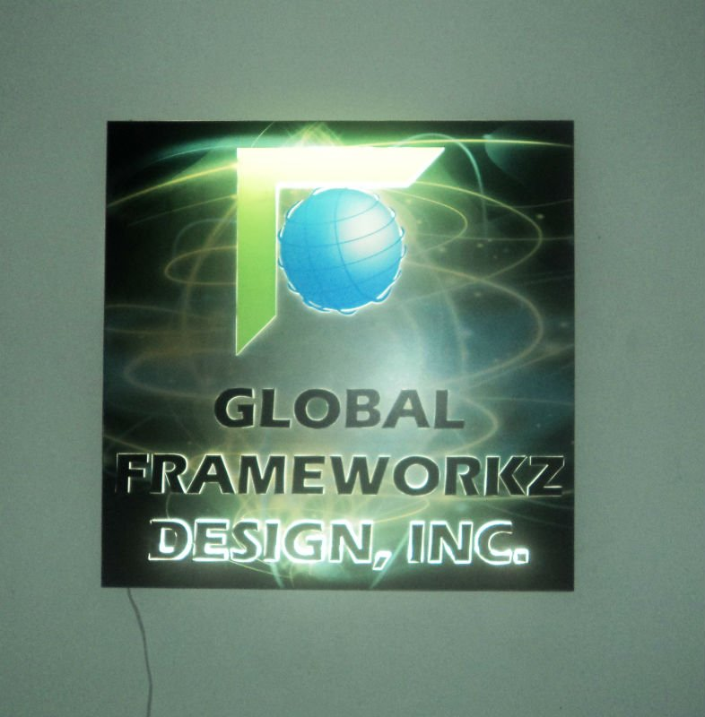 Acrylic Lighted Signage