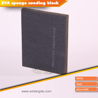 Silicon Carbide Hand Sponge Abrasive Car Buffing Pad