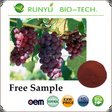 factoy direct supply Wholesale price Grape seed extract/Polyphenols/Proanthocyanidins(OPC)