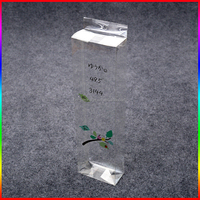 custom ball-point pen clear PVC box/PET box with hook