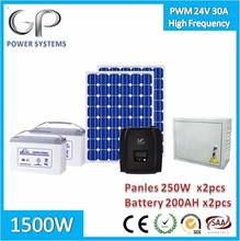 [GP1500-C5]1500w home solar power systems for home appliance high frequency 2000va 1500 hybrid inverter