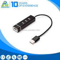 China manufacturer USB 2.0 Aluminum 4 Port usb hub