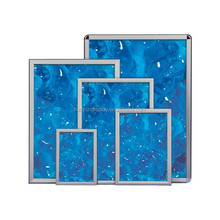 Aluminum and acrylice Material square Shape snap frame