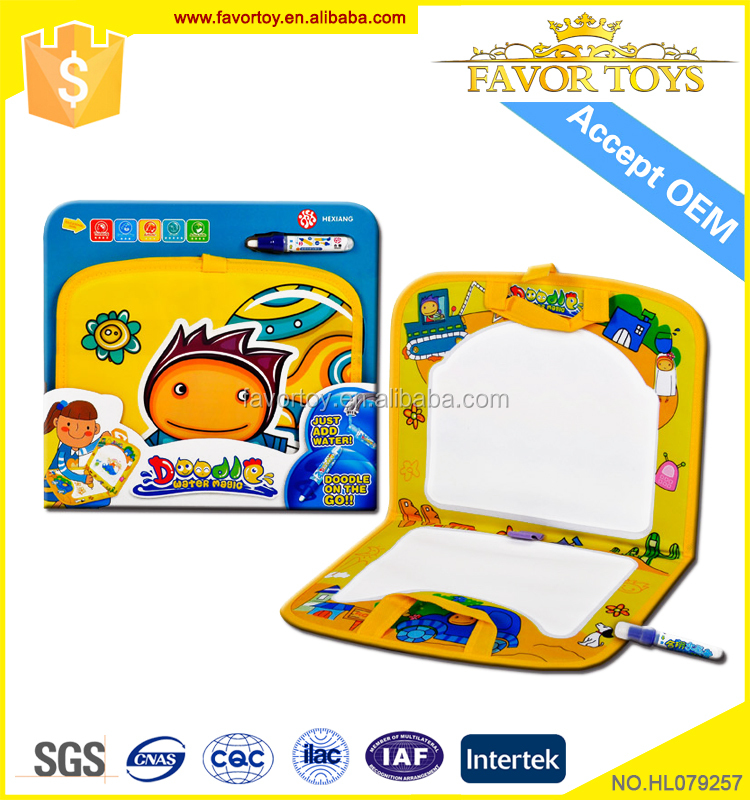 New style colorful educational cartoon portable smart board for babies