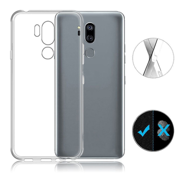 For LG G7 Plus Thin Q case transparent clear ultrathin tpu mobile phone case for LG Q7 Plus
