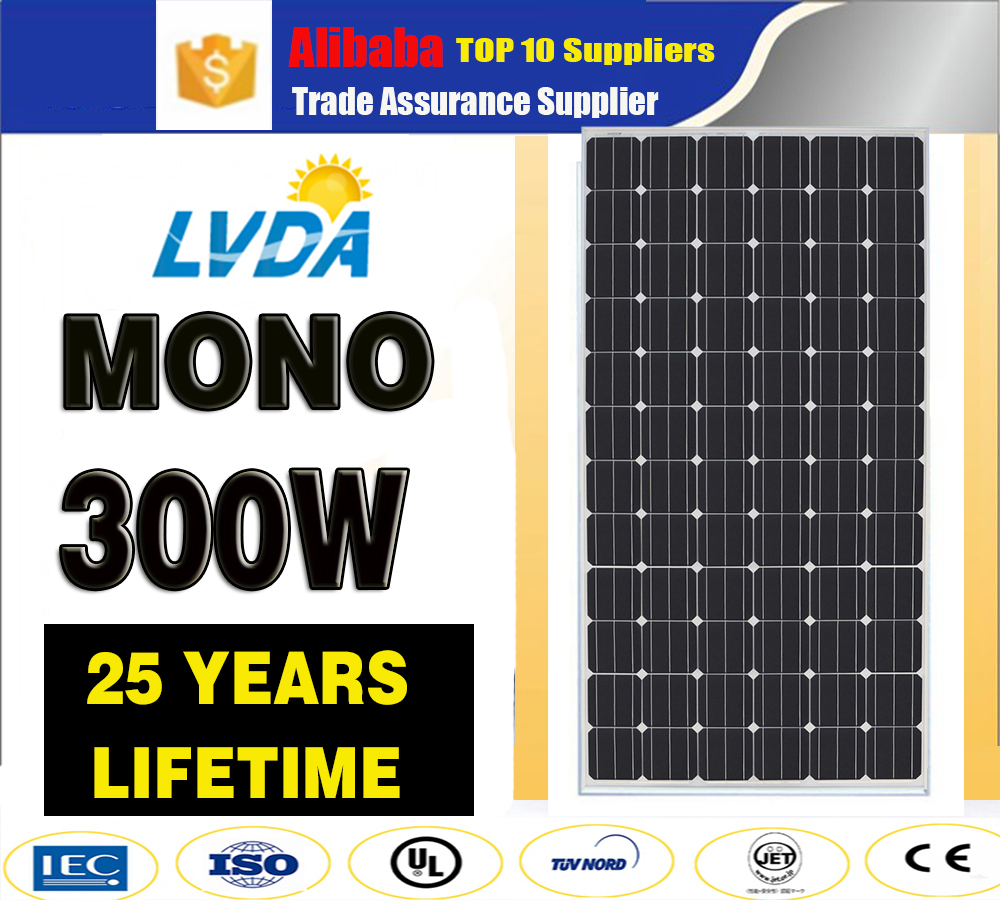 High Efficiency 5W--300W Grade A soalr panel / factory low price mono solar panel