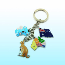 custom metal keychain for australian souvenirs