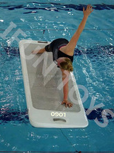 Pool Inflatable aqua fitness board inflatable aqua board for yoga fitness inflatable floating yoga board