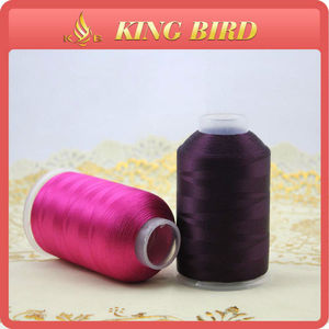 2018 Hot sale Viscose Rayon Embroidery Thread Filament Thread Yarn For Embroidery