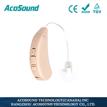 Adjustable for High & Low Frequency Programmable AcoSound Acomate 220 ric soft shell hearing aid