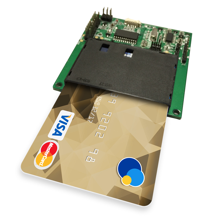 ACM38U-Y3 Contact Smart Card Reader Module With High Security For Mobile Device
