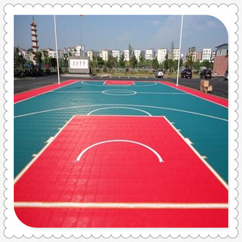 half basketball court construction