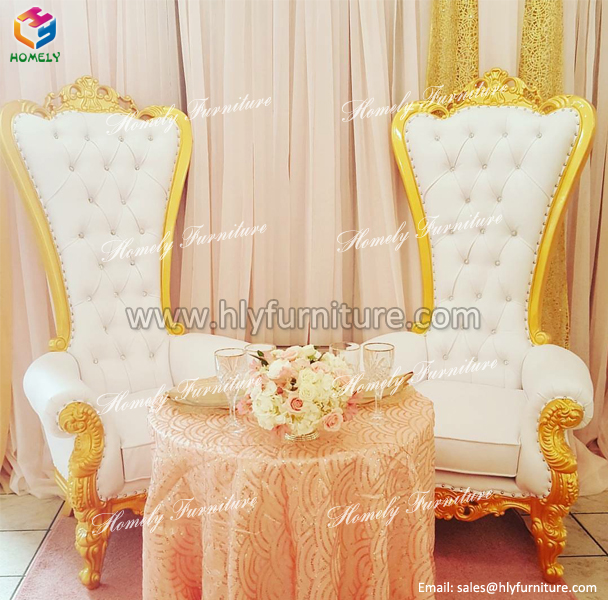Promotional wedding queen king <strong>chair</strong>