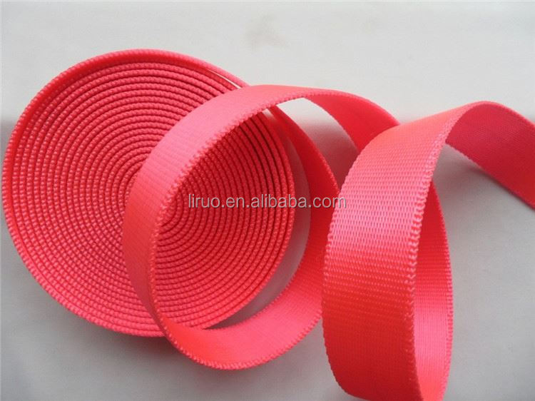 Newest selling excellent quality pet belt webbing nylon webbings