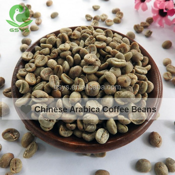 Chinese Raw Coffee beans 2017 new crop