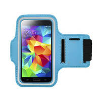 Armband design up wrist mobile phone case for samsung galaxy S5 I9600 with PVC and PU material
