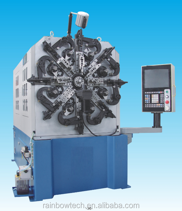 CNC spring wire forming machine