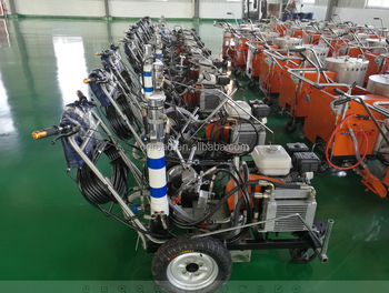 2017 New Airless Cold Spary Hand-push Road Paint Line Marking Machine