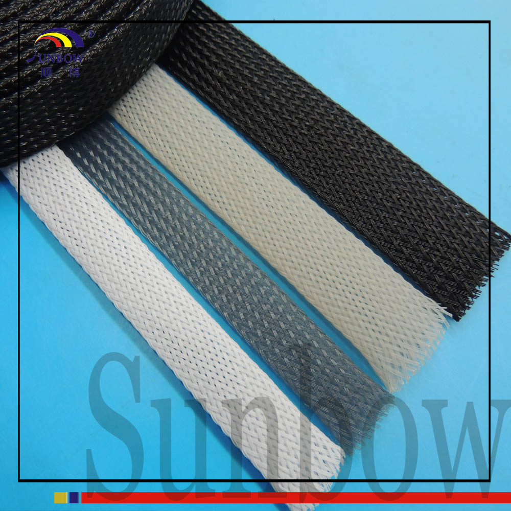 SUNBOW Nylon Expandable Braided Sleeving Cable Sleeve