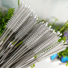 Straw Cleaning Brush Stainless Steel Wash Drinking Pipe Straw Brushes Brush Cleaner