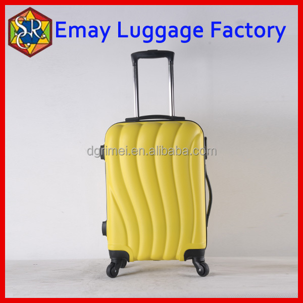 Newest design high quality abs luggage case hard case luggage