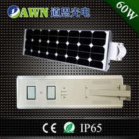60W all in one integrated solar led street lamp new names for companies