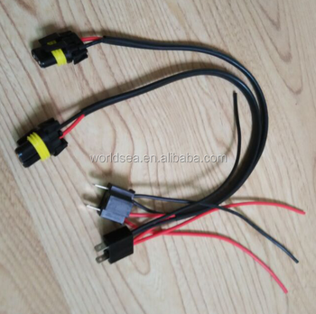 H4 to 9006 wiring harness wire plug_350x350 h4 to 9006 wiring harness wire plug socket buy socket,connector 9006 wire harness at nearapp.co