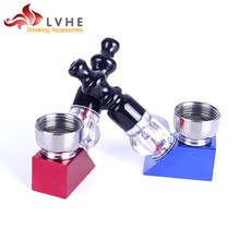 032PM LVHE Chinese Products Aluminum ABS Bone Smoking Pipe