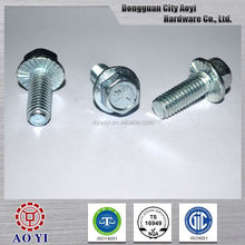 Hot selling promotional bolts flange screws and fasteners