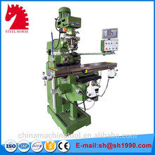 New development 4HW/5HW knee type turret milling machine