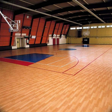 vinyl flooring roll for basketball court with wooden pattern