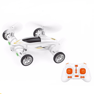 Popular High speed Air-Road RC Racing Car Flying Quadcopter with FPV wifi 2MP camera Drone toys kit for kids play BR9