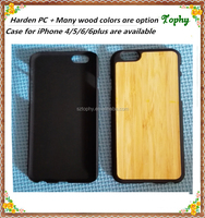 China supplier ECO-friendly natural wood mobile phone housing for iPhone 6 case, case wood for iphone 5 bamboo