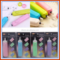 Creative Derwent battery operated Designer electric earasing Small automatic school supplies leather stationery electric eraser