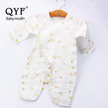 MCS 001 High quality printed muslin baby clothes