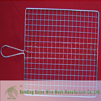 Alibaba china manufacture Stainless Steel Crimped mesh /Wave Netting Barbecue Wire Mesh Factory