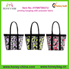 Fashion Women shoulder bag,Customize printing hangbag with polyester fabric