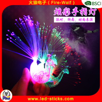 Fashion Finger Shaped Flashing LED Light Finger Ring 2016 Night Party Favors Flashing Finger Light