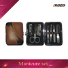 MS1457 factory wholesale brown color high end good quality manicure sets