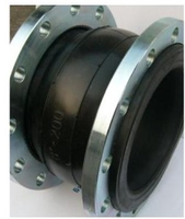 High temperature rubber expansion joints with big diameter for power steering