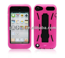 silicone case for iPod touch 5,back protective cover for touch5,for ipod touch 5 waterproof case