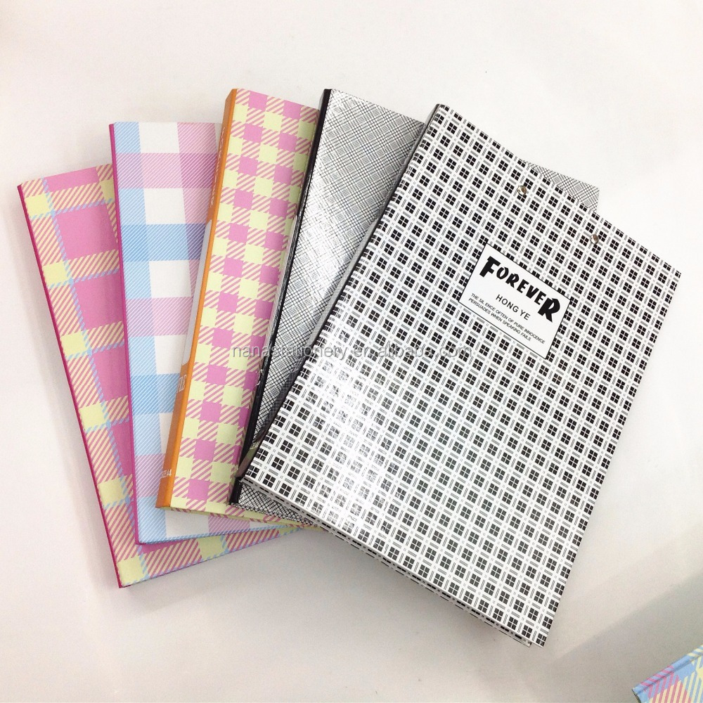 Made in China hardcover clip folder for documents