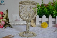 Mini mental trophy cup for decorate
