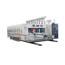 Automatic High Speed Corrugated Carton Box Flexo Printing Slotting Die Cutting Machinery