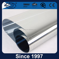 Silver Reflective Mirror High Quality PET Building Decorative Film