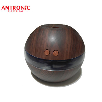 ATC-AD0368 Wooden grain Ultrasonic USB Aroma diffuser /essential oil aroma diffuser with LED light