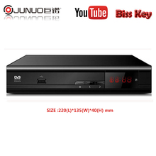 junuo shenzhen factory digital satellite receiver frequency with bisskey powervu